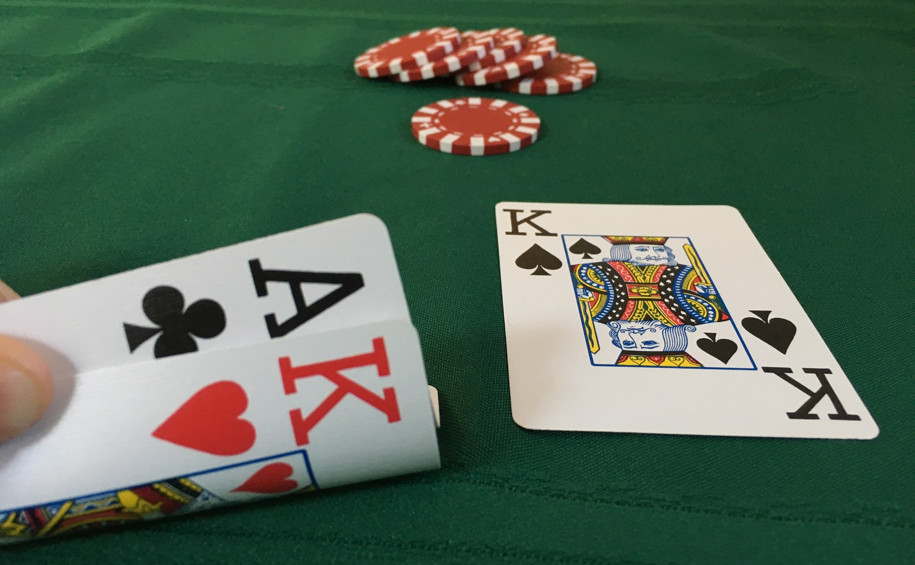 online poker playing